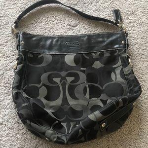 Large Coach Hobo Shoulder Bag -Excellent Condition